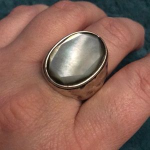 Premier Designs Gray Mist ring Size 10